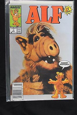 Marvel Alf Comic Book #1 and #3 Near Mint