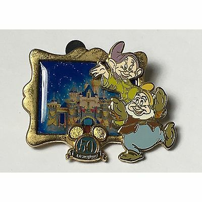 DLR Disney DOPEY HAPPY Happiest Homecoming On Earth PIN 50th Anniversary 2005
