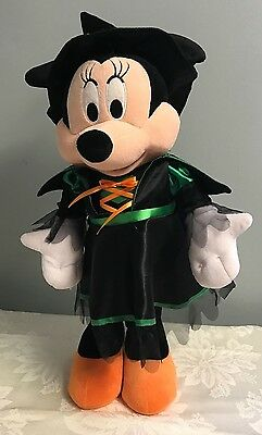 """Minnie Mouse Holiday Greeter Halloween Witch Porch Greeter Walt Disney Tall 21"""""""