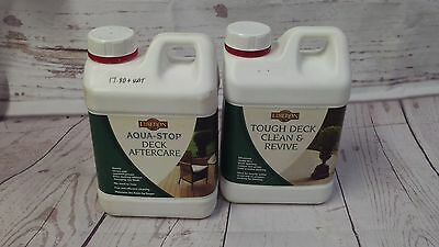 Clean & Revive Plus Wood Decking Cleaner & Tough Liberon After Care 2 L x 2 off