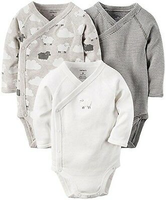 Carter's Unisex Baby Bodysuit pack of 3 6M. Baby Clothes, Onesies, Boy