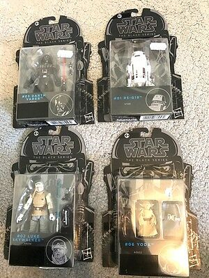 Hasbro Star Wars Action Figure The Black Series Job Lot X5 On Card New