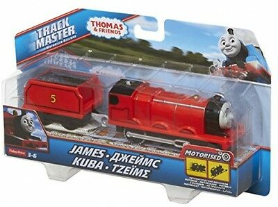 Fisher-Price Thomas and Friends TrackMaster Motorized James Engine Character Toy