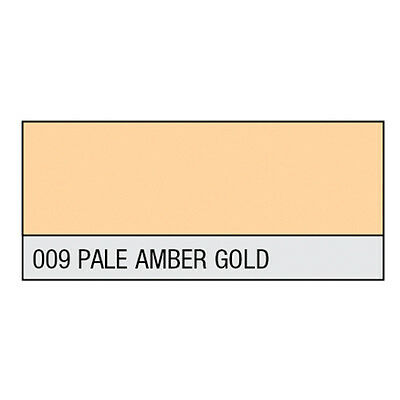 LEE Filter Rolle HT 009 Pale Amber Gold 1170x4000 mm