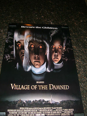 "VILLAGE OF THE DAMNED Original 1995 Movie Poster, 27"" x 41"", C7.5 Very Fine -"