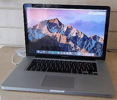 "Apple MacBook Pro A1286 15"" Mid 2010 Intel Core i5 2.53GHz 256GB SSD 8GB Wrnty"