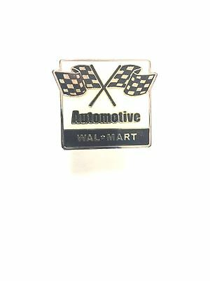 Rare Walmart Automotive Lapel Pin Wal-Mart Pinback Brand New