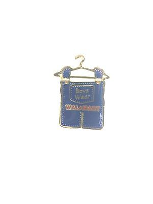 Rare Walmart Boys Wear Lapel Pin Wal-Mart Pinback Brand New