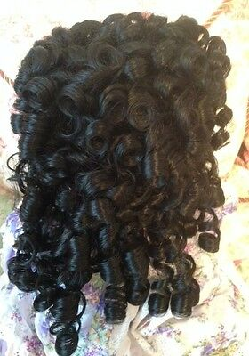 "New Monique CHARMAINE Doll Wig Black Sz 14-15 Fits My Twinn 23"", etc."