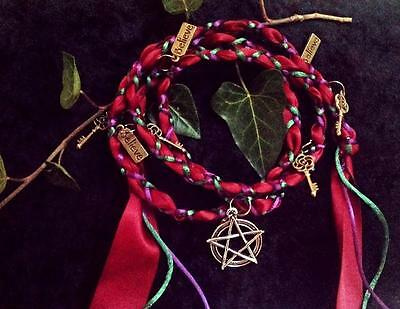 wicca. pagan. spells. wiccan. protection. cord magick.witches ladder.