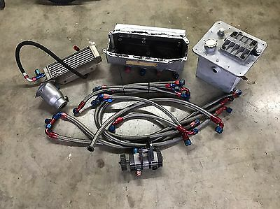 Weaver Brothers 3 Stage Dry Sump System Dirt Late Model Imca Race Car