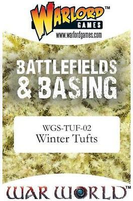 Winter Tufts – Warlord Games WGS-TUF-02 – Ground cover for battlefields/bases