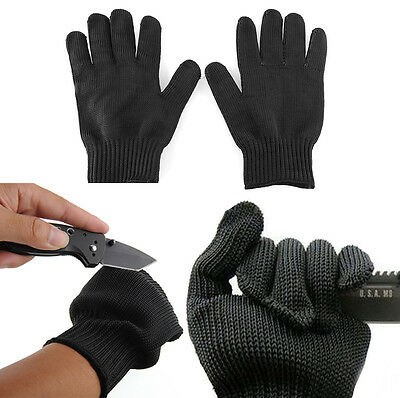 New Safe Stainless Steel Wire Safety Work Anti-Slash Cut Static Resistance Glove