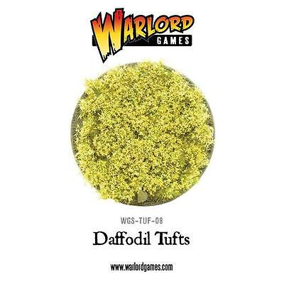 Daffodil Tufts – Warlord Games WGS-TUF-08 – Ground cover for battlefields/bases