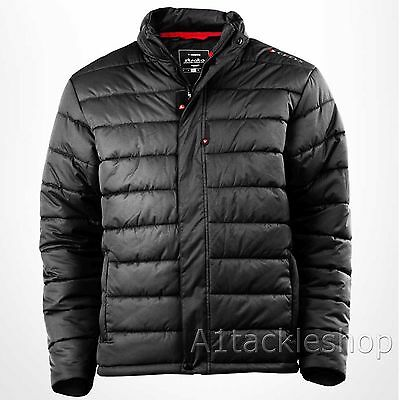 Greys Strata Quilted / Padded Fishing Jacket in Black