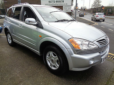 07/56 Ssangyong Kyron 2.0Td S 5Dr 4X4 In Silver,only 47,000 Miles From New