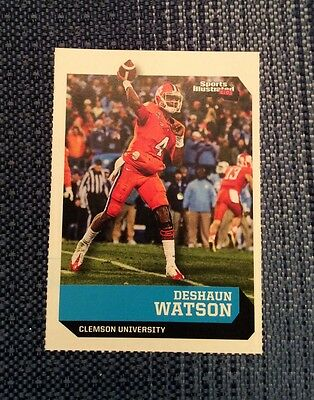 Deshaun Watson 2016 Sports Illustrated for Kids RC Clemson Rookie #514
