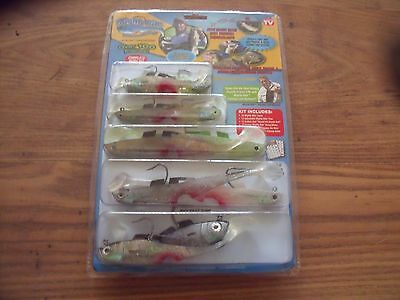 100 + Pieces Lure Fishing Set Mightybite Brand New