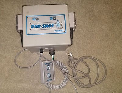 Knight One-Shot Pump 2 Product w/Remote Activator for Laundry Liquid