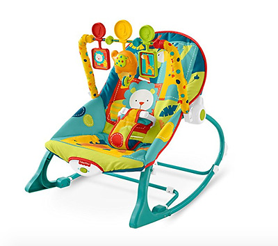 Baby Bouncer Chair Vibrating Seat Fisher Price Infant Recliner Toys Rocker New