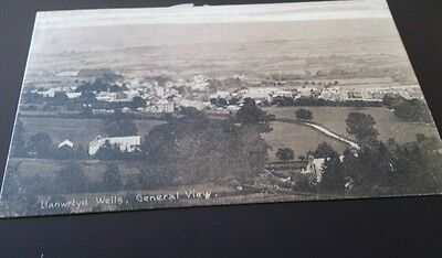 Old postcard llanwrtyd wells general view posted 1911