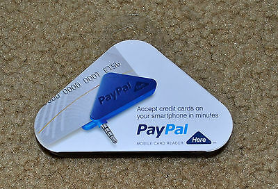 PayPal Here Card Reader for iPhone & Android devices NEW SEALED Retail Package