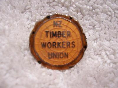 NZ Timber Workers Badge