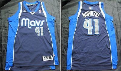 Dirk Nowitzki #41 Dallas Mavericks NBA shirt ADIDAS 2011 Jersey adult SIZE L