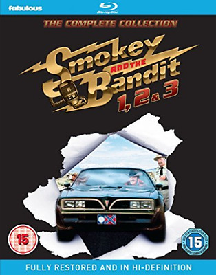 SMOKEY AND THE BANDIT 1, 2 & 3 - THE  Blu-Ray NEW