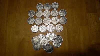 New Orleans Mardi Gras Doubloons Lot of 27
