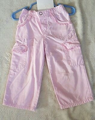 cherokee girls pink pants, size 2T