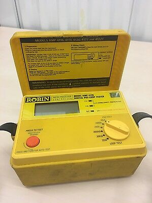 Robin Digital PSC-Loop Tester KMP 4120 with D-LOK