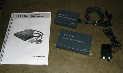 BELKIN OMNIVIEW CAT5 EXTENDER for VGA and PS/2