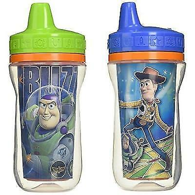The First Years 2 Pack 9 Ounce Insulated Sippy Cup, Toy Story (Color and design
