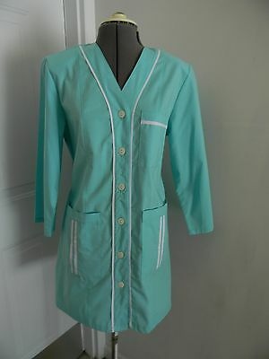Medical Womens  Med Doctor Nursing Short Jacket  Lab Coat M Size