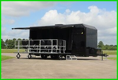 2017 MOBILE MARKETING STAGE DISPLAY & SIMULATION TRAILER New