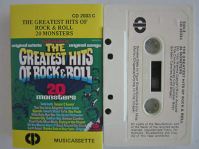 The Greatest Hits Of Rock & Roll Rare Cassette Tape