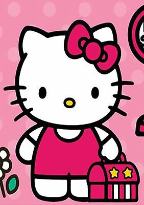 Lot Sticker Autocollant/magnet Multi Format A5 A6 A7 A8 Hello Kitty Cat Chat.