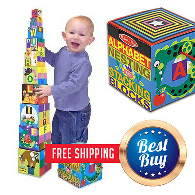 Baby Development Blocks Kids Toys Basic Learning Toy For Toddlers Infant Gift