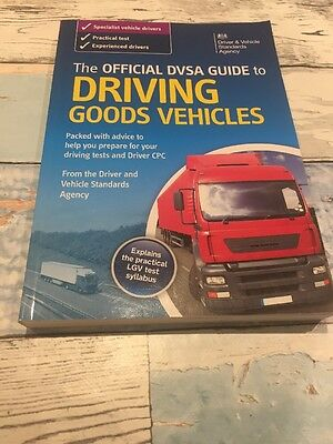 The official dvsa guide to driving goods vehicles book valid for 2017 test