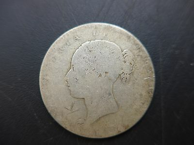 1839/64  Queen Victoria, Young Hea   Halfcrown,   An interesting old coin.