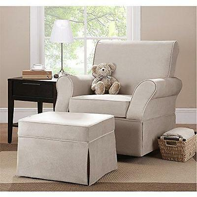 Baby Relax Swivel Glider and Ottoman, Comet Doe New