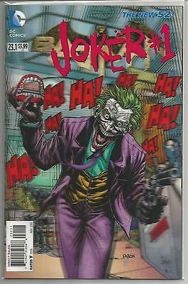 Joker #1 First issue, Rare 3D Cover DC Comic Book