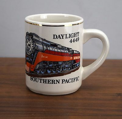 Southern Pacific Daylight 4449 Train Coffee Cup Mug Railroad Engine The Mugger