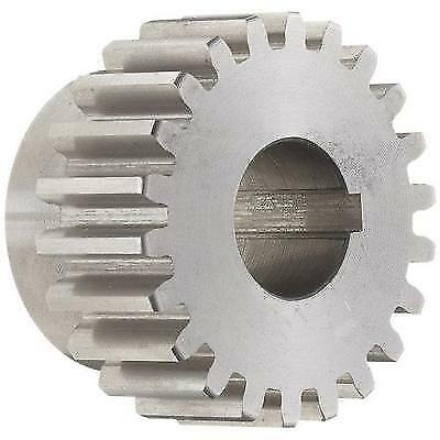 Boston Gear ND12B Spur Gear, 14.5 Pressure Angle, Steel, Inch, 12 Pitch, New