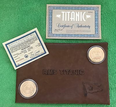 RMS Titanic 100 Year Anniversary Gold Coin Proof & FREE GIFT!