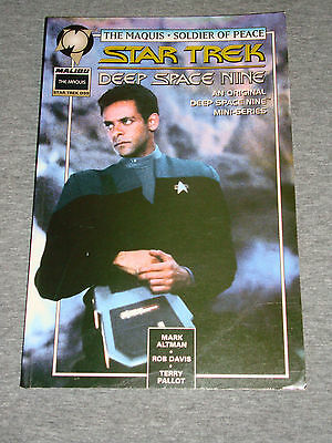 Star Trek Deep Space Nine: The Maquis - Boxtree Graphic Novel 1996