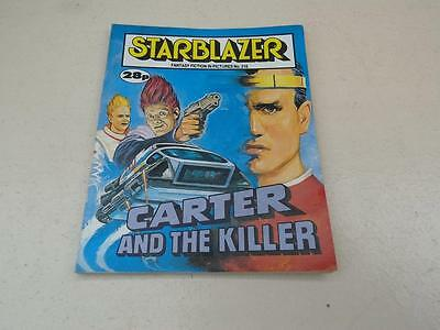 Starblazer Comic No.215 Carter and the killer