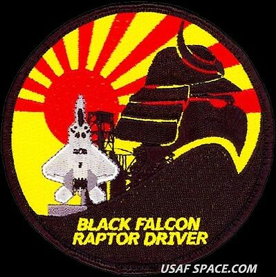 Usaf 27Th Expeditionary Fighter Sq -Pacaf Theater Security- Kadena 2012 -Patch