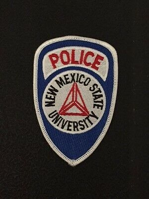 New Mexico State University Police Shoulder Patch